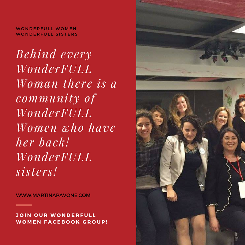 Behind every WonderFULL Woman there is a community of WonderFULL Women who have her back!