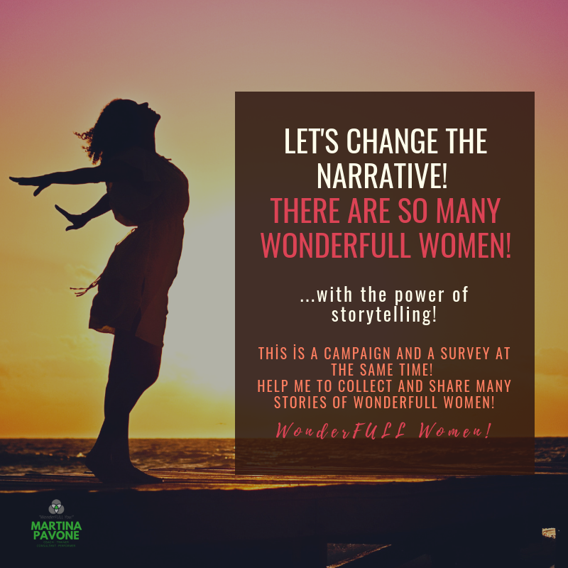 let's change the narratıve! there are so many wonderFULL Women!